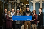 Bursary continues to provide financial support to students entering trades