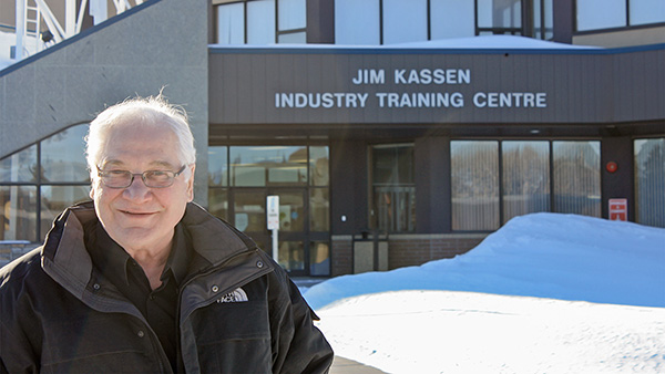 In memoriam: Jim Kassen, 1945–2019, Northern Lights College's longest-serving president