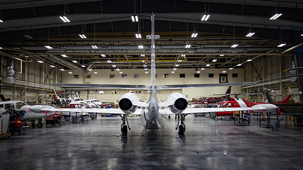 NLC aircraft maintenance program reaches new heights with jet donation