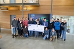 Generous ICBA donation benefits Northern Lights College Carpentry students