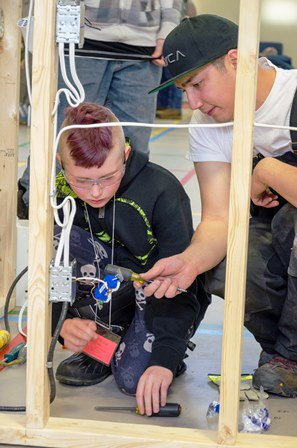 Two New Events Were Introduced At The Peace Region Annual Competition This  Year. Try A Trade, For Grade Seven Students, Gave Students A Chance To  Rotate ...