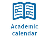 book icon, link to Northern Lights College's academic calendar