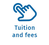 hand screen cursor link to Northern Lights College's tuition and fees