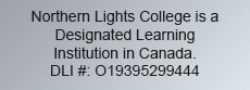 NLC Designated Learning Institution number
