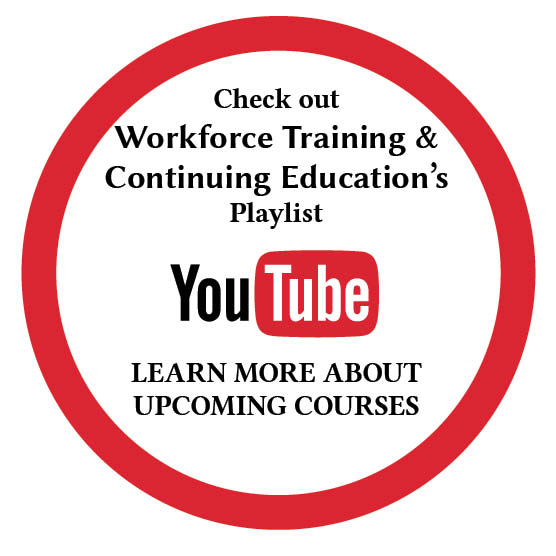 Workforce Traing and Continuing Education's Youtube Playlist link